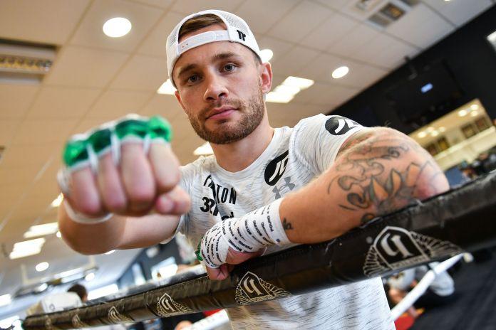Carl Frampton is set for a decisive fight in Dubai on Saturday