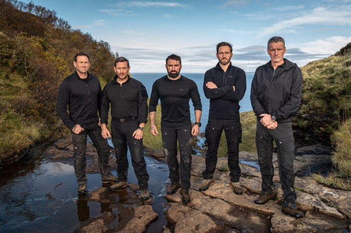 He was spotted in Sydney heading to hotel quarantine alongside his fellow SAS: Who Dares Wins instructors