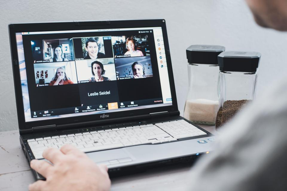 Video conferencing service Zoom saw users rocket during lockdown