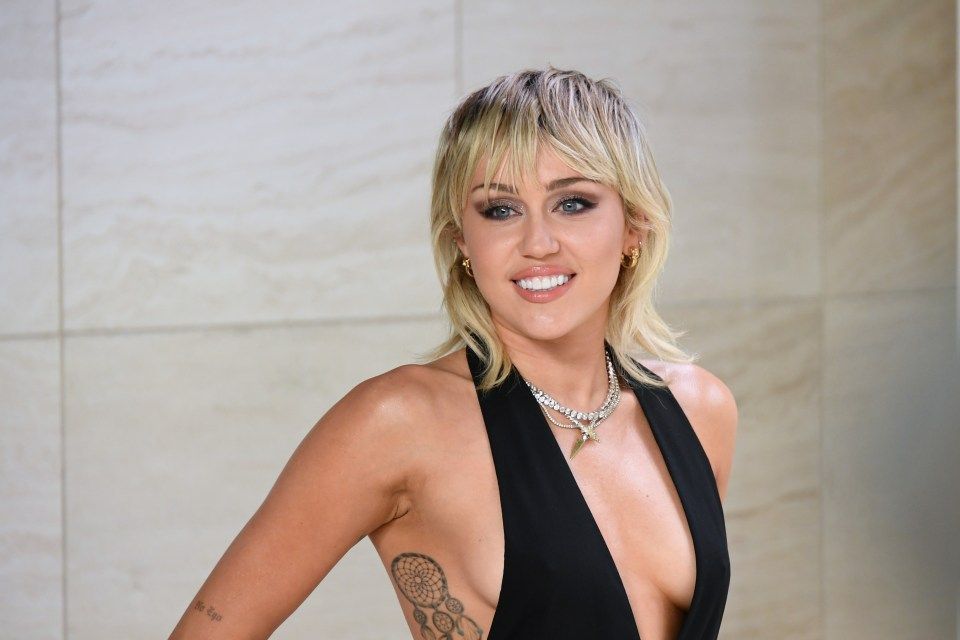 Miley Cyrus has been nominated for International female Solo Artist