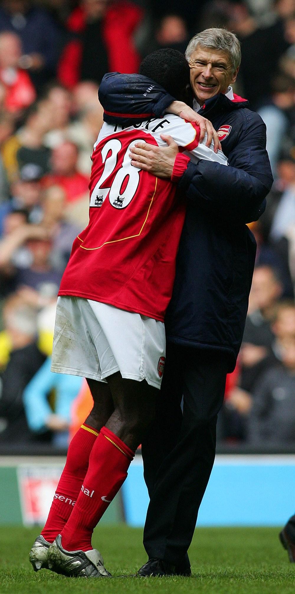 Arsene Wenger signed Kolo Toure for just £150,000