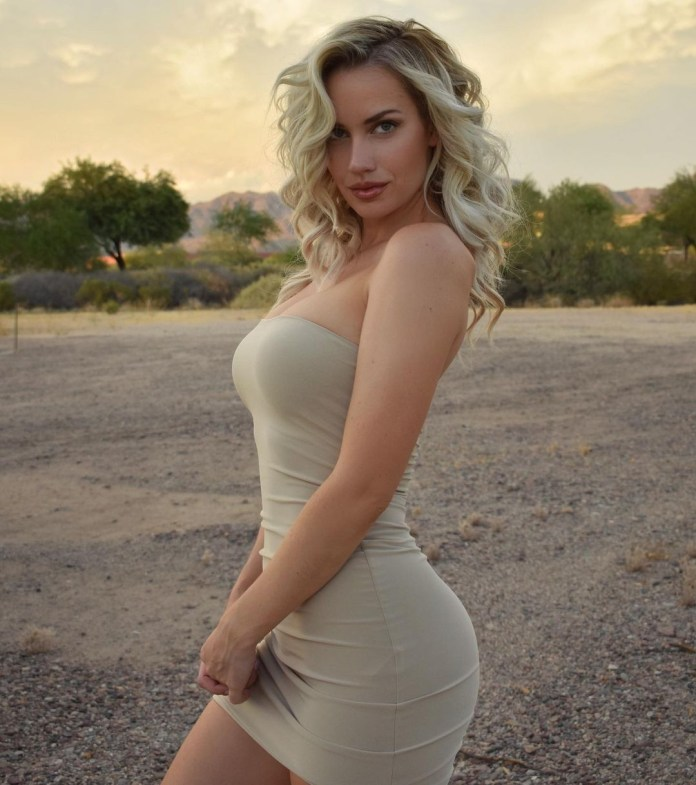 Paige Spiranac is very popular on social media
