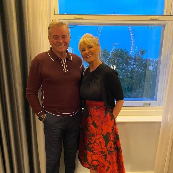 Mark's mum and dad
