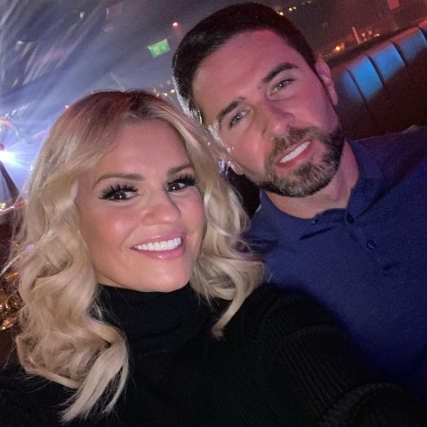 The star is now loved up with fiance Ryan