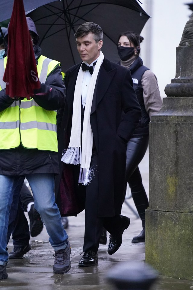 Cillian and his co-stars have been seen filming on location around the country