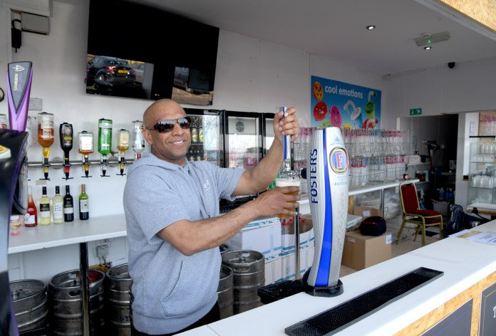 Kash Pungi is going to carry on serving Brits pints despite being slapped with a fine and told to sotp