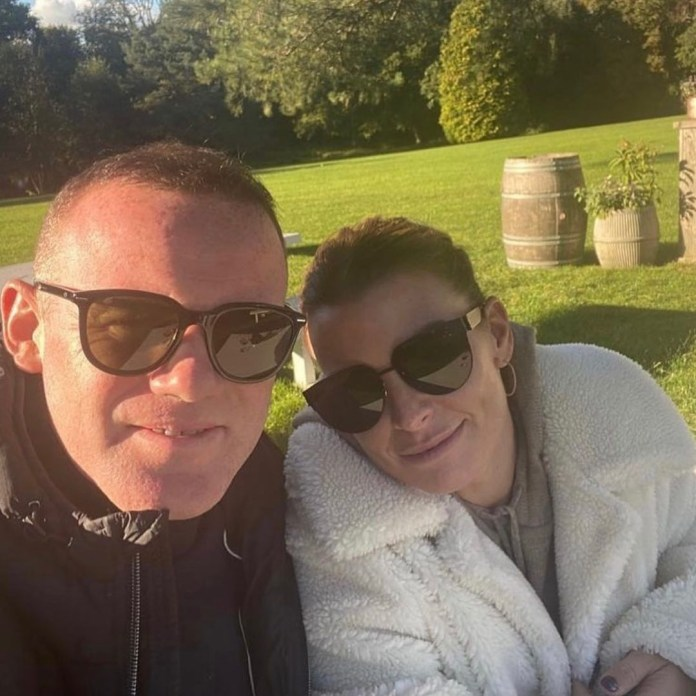 Wayne Rooney has shared a series of family snaps to celebrate wife Coleen's 35th birthday
