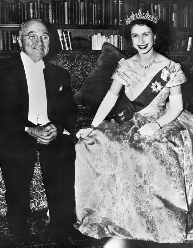 Despite her father's ill health, Elizabeth and Philip embarked on a North American tour and met with President Harry Truman