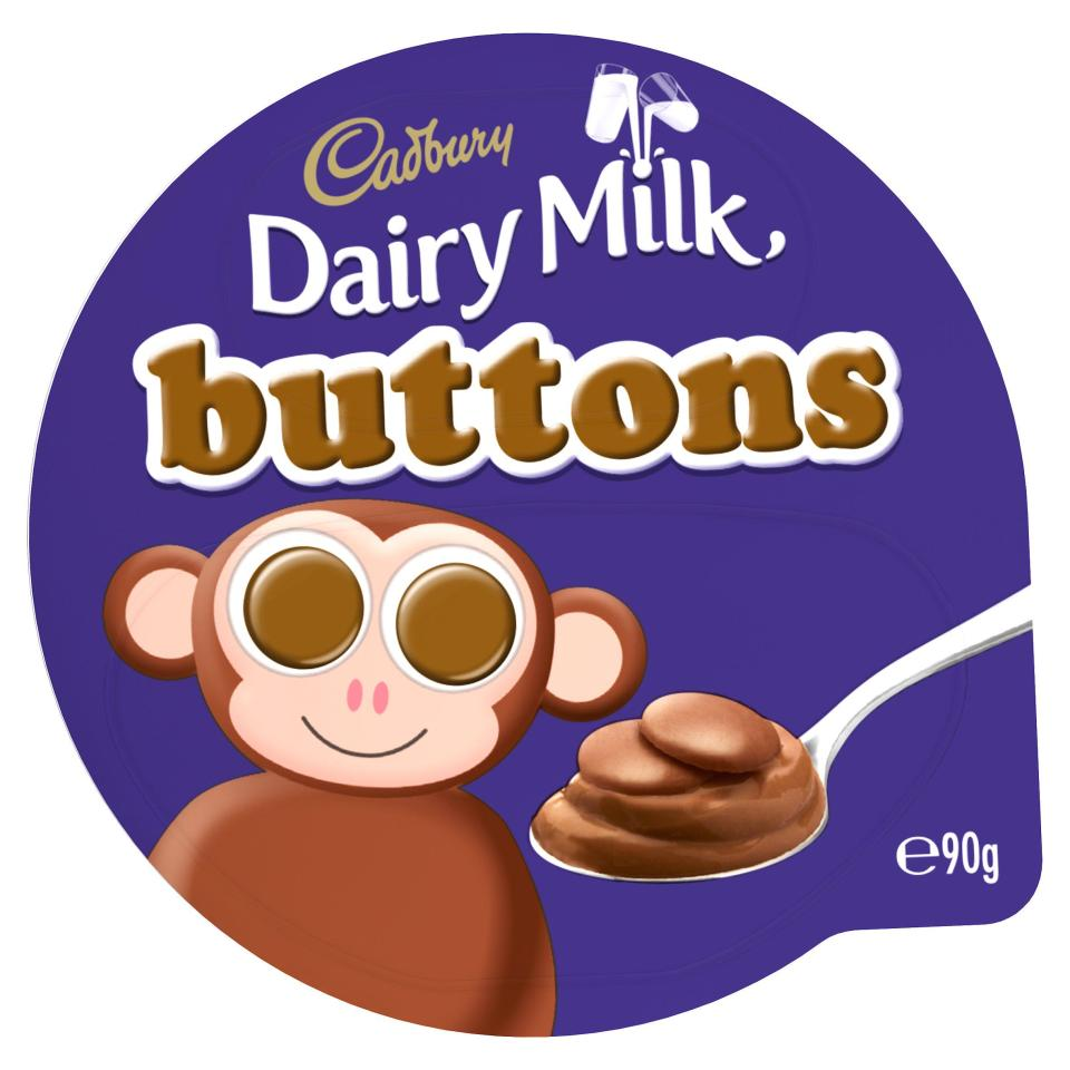 Treat yourself to a tub of Cadbury Dairy Milk Buttons chocolate dessert for just 47p at Sainsbury's