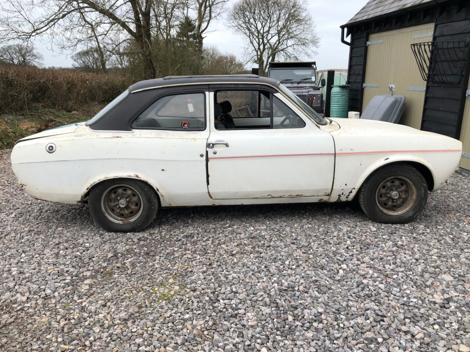 Ford Escort which has been languishing in garages for nearly 25 years