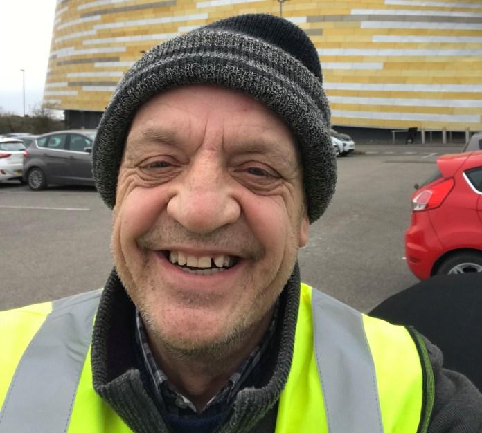 Stephen Kirk, 62, from Derby, is 'so proud' to volunteer