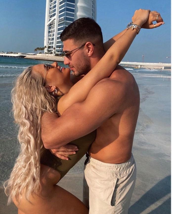 The pair met on Love Island in 2019