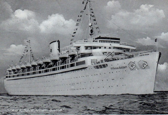 MV Wilhelm Gustloff was sunk by the Soviets in the final days of WW2