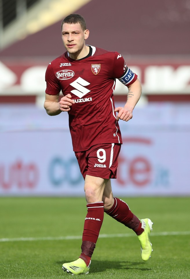 Andrea Belotti is on Chelsea's radar