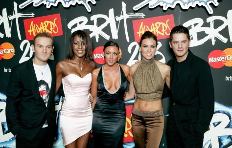 The singer shot to fame on ITV talent show Popstars in 2001