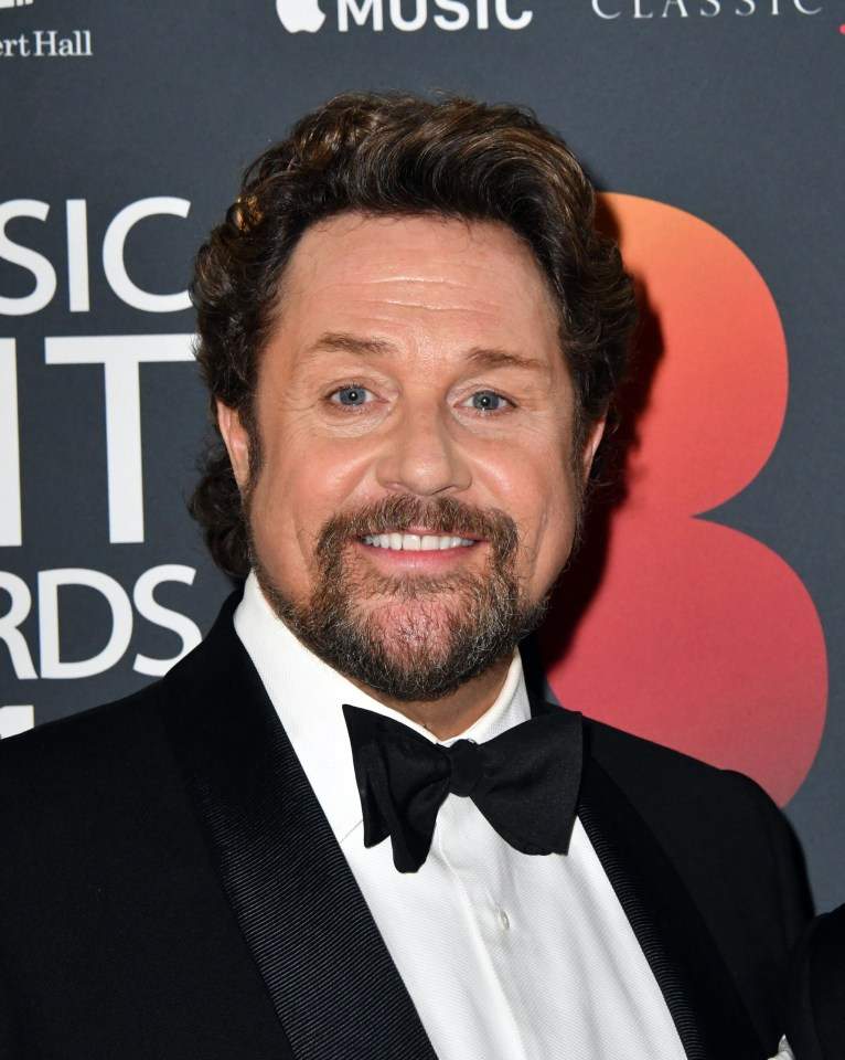 An embarrassing moment put the wind up Michael Ball in front of a packed theatre crowd