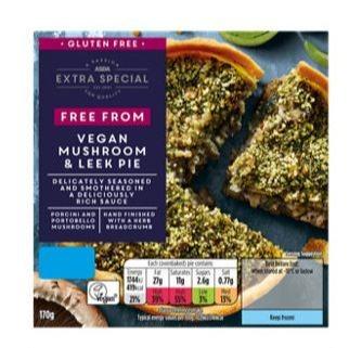 Asda is recalling its vegan mushroom and leek pies