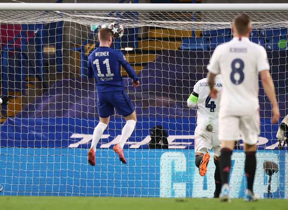 Timo Werner rises to the occasion for the Chelsea opener in a 2-0 win over Real Madrid and 3-01 triumph on aggregate