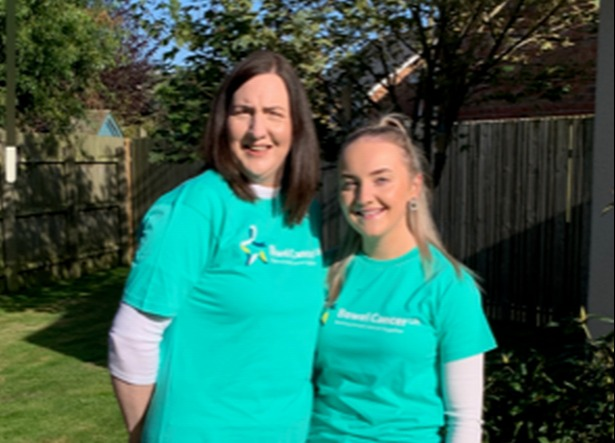 Pauline was planning to take part in her second walk for Bowel Cancer UK We Walk Together in June