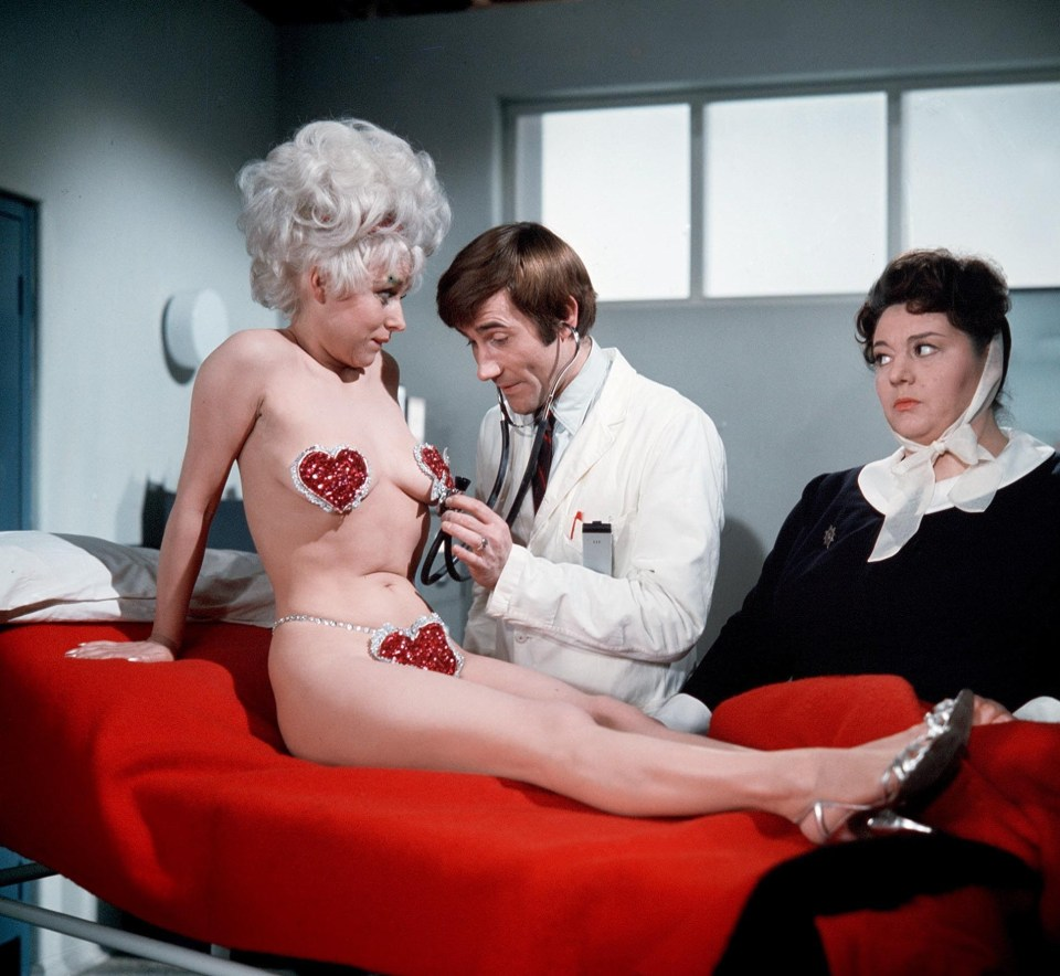 Babs in 1968's Carry On Doctor
