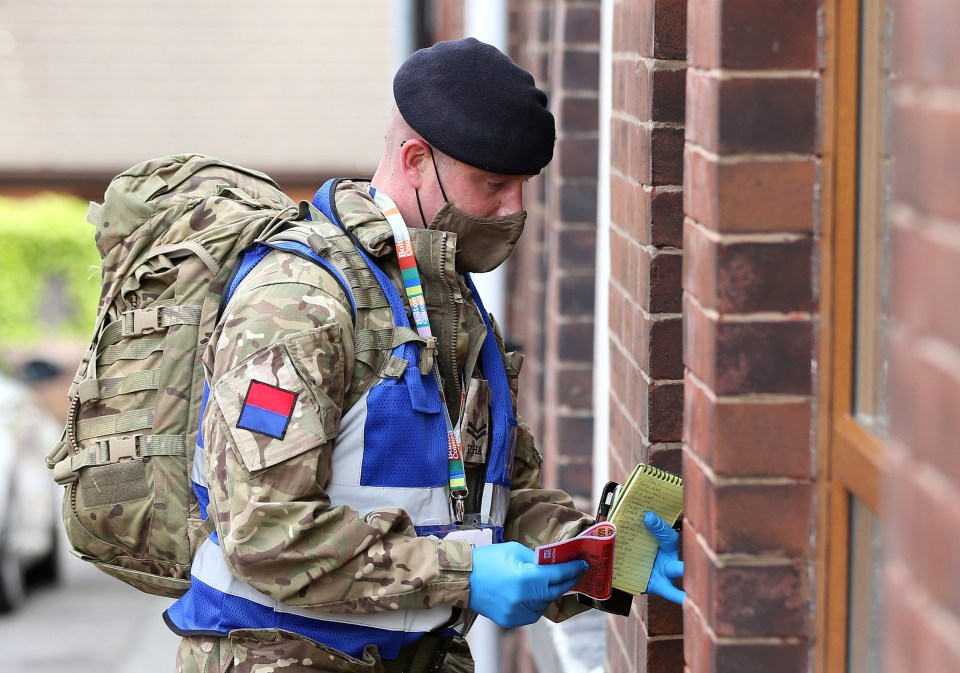 Door-to-door surge testing being carried out in Bolton - the UK's Indian variant hotspot