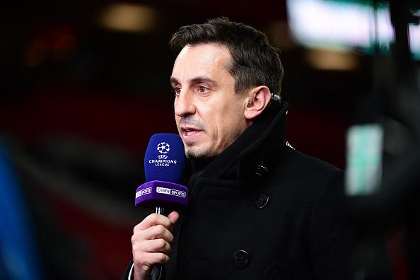 Gary Neville will be part of ITV's studio team for Euro 2020