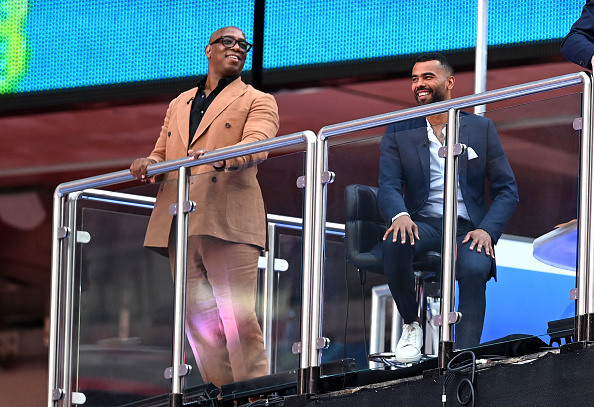 Ian Wright and Ashley Cole were part of the BBC team for the FA Cup final but will be with ITV for Euro 2020