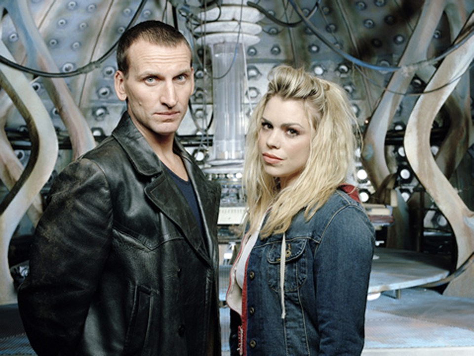 Christopher Ecclestone starred alongside Billie Piper in the series as the Ninth Doctor