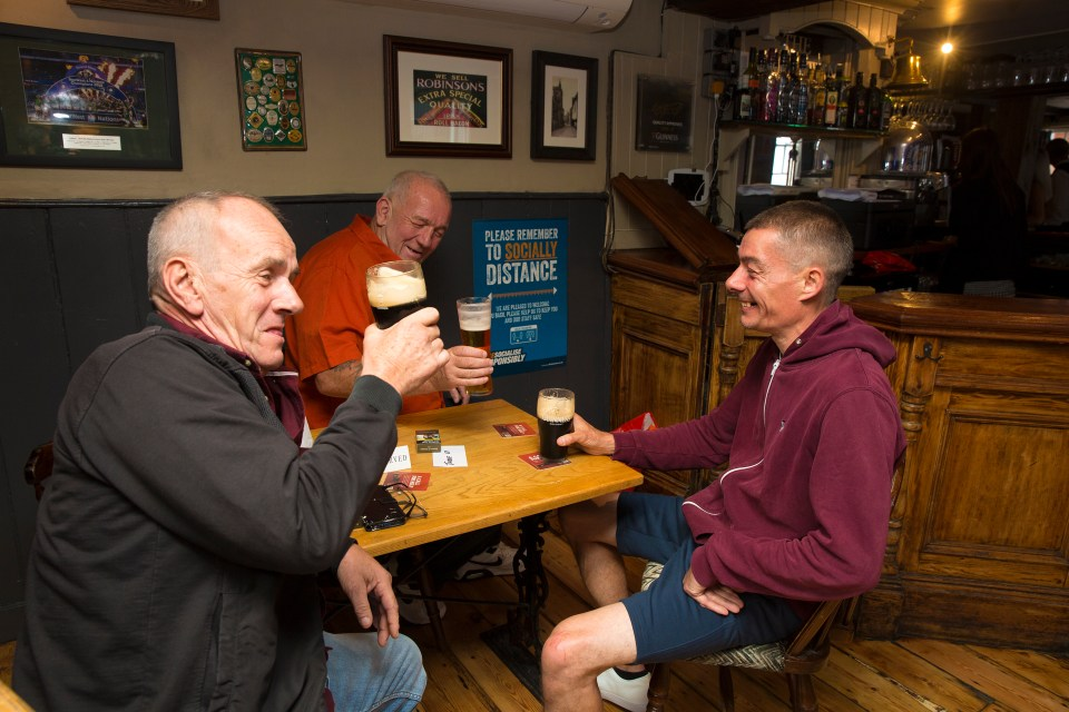 Pubs and restaurants will serve food and drink indoors from May 17
