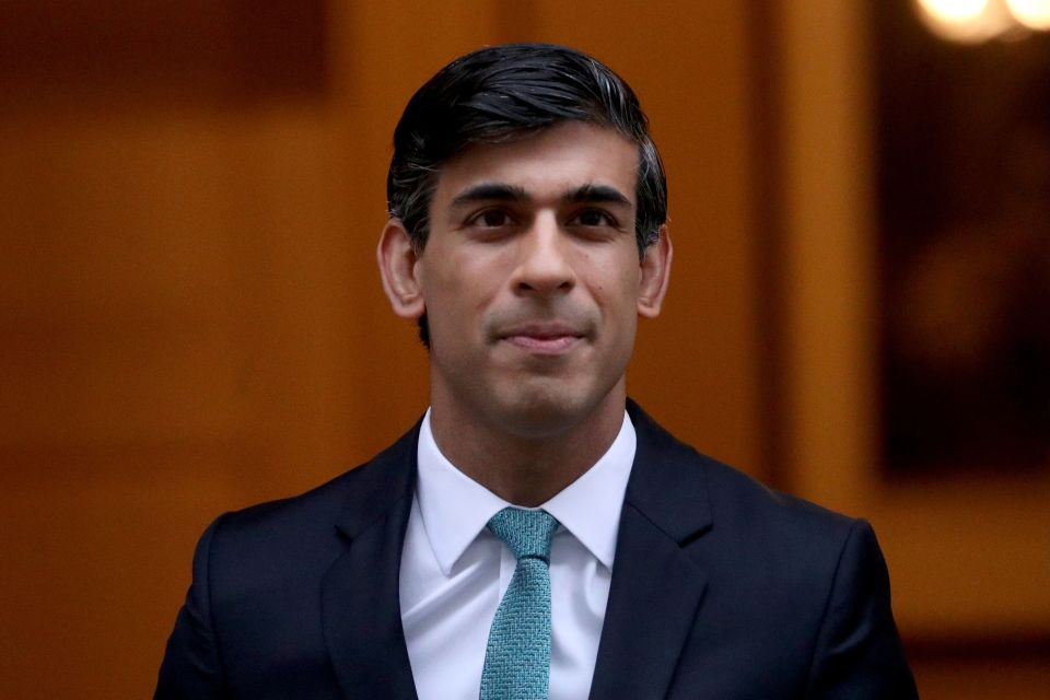 Chancellor Rishi Sunak has said there is 'an enormous amount' of pent-up savings around