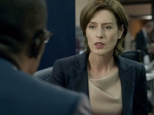 Jackie Laverty, played by Gina McKee was chopped up in the first series