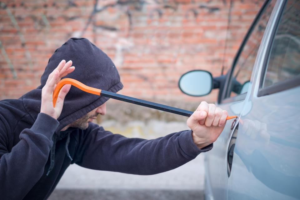 Police have struggled to catch and charge car thieves