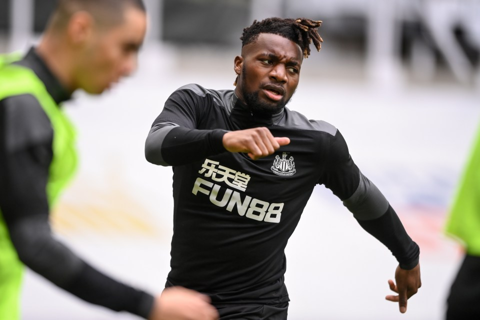 Allan Saint-Maximin wants more from his career than simply surviving relelgation