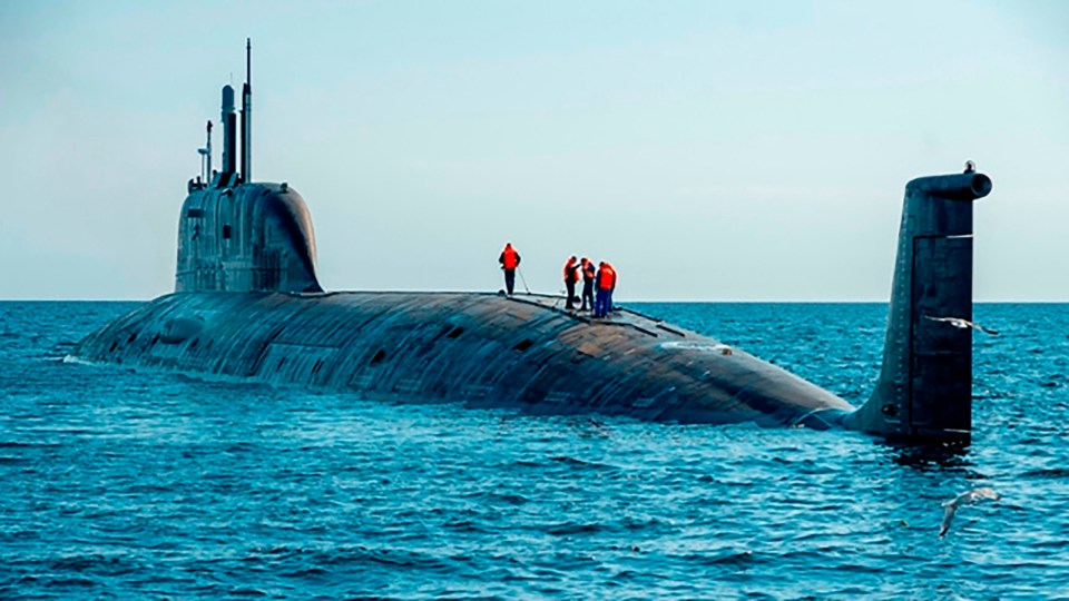 The submarine is capable to wipe out US cities