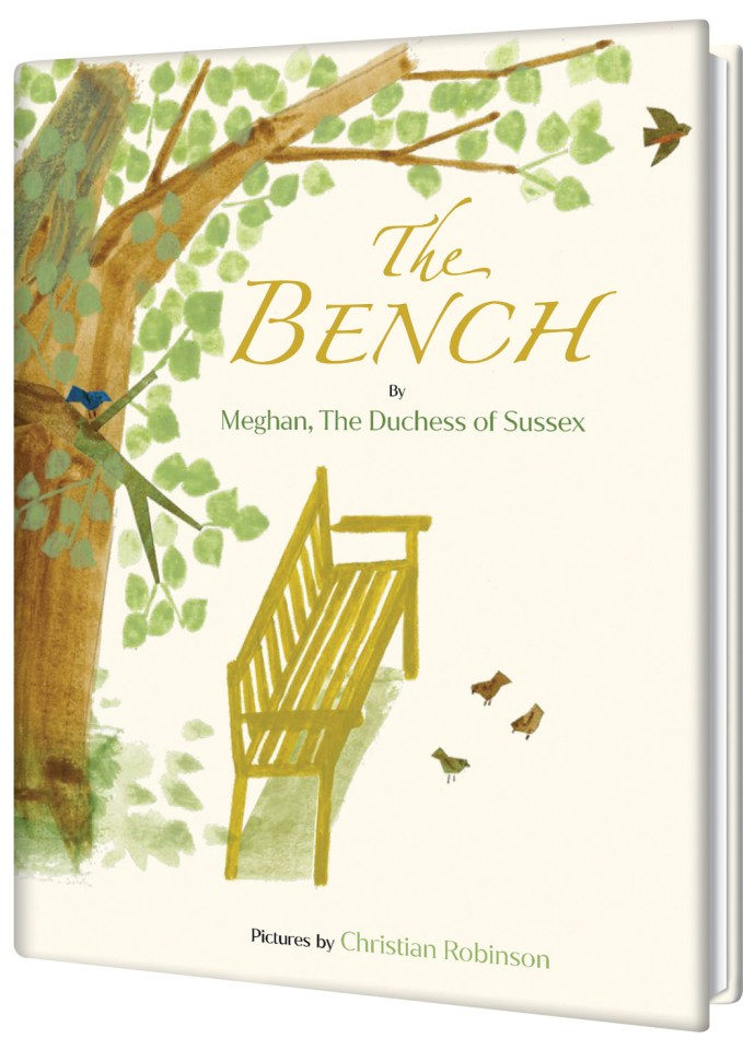 Meghan is also releasing a children's book called The Bench