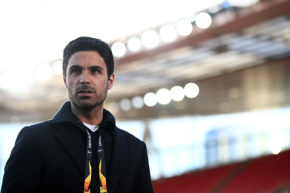 Mikel Arteta is under huge pressure at Arsenal following the club's Europa League exit - but the club will back him this summer