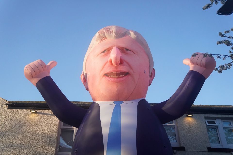 The real Boris will be pretty happy with tonight's result