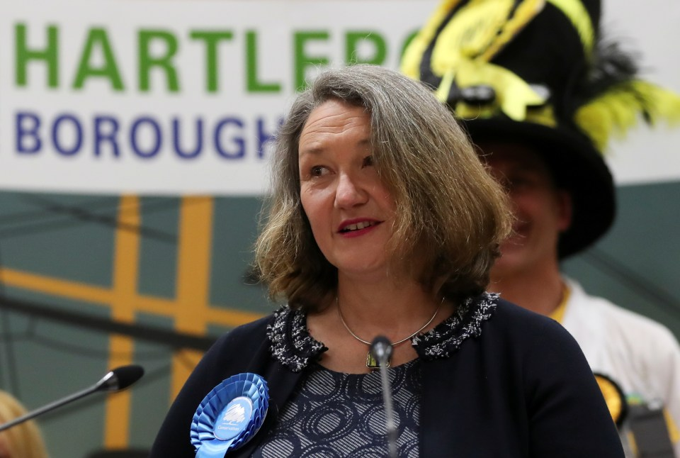 Jill Mortimer won the Hartlepool by-election