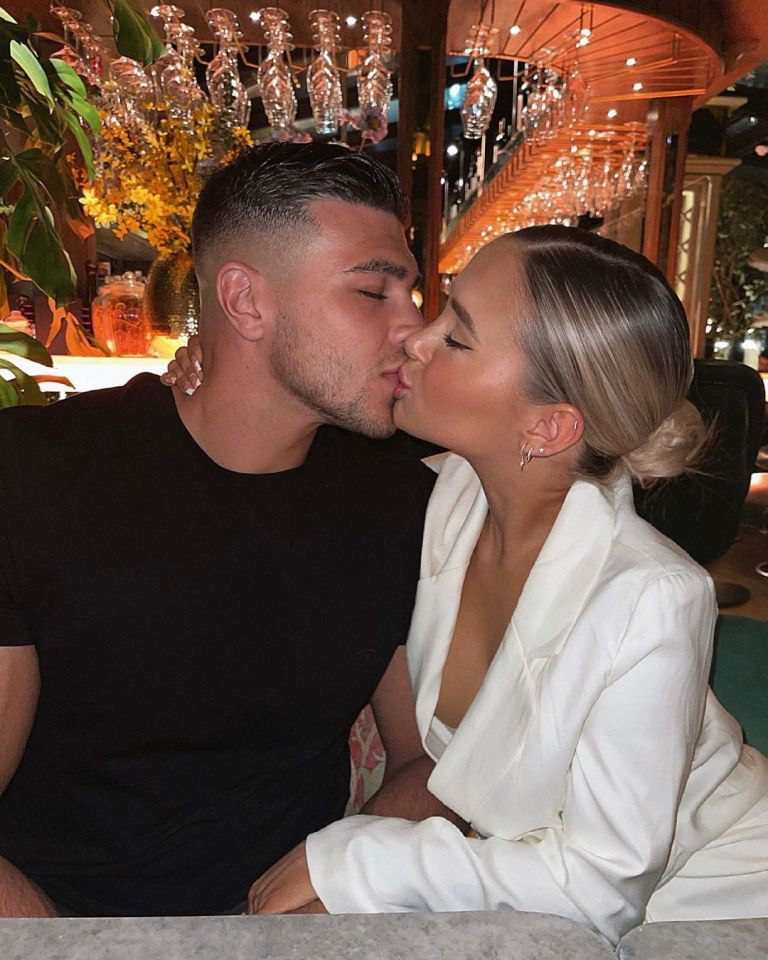 Tommy finally said goodbye to his girlfriend Molly-Mae as he jetted off to Vegas