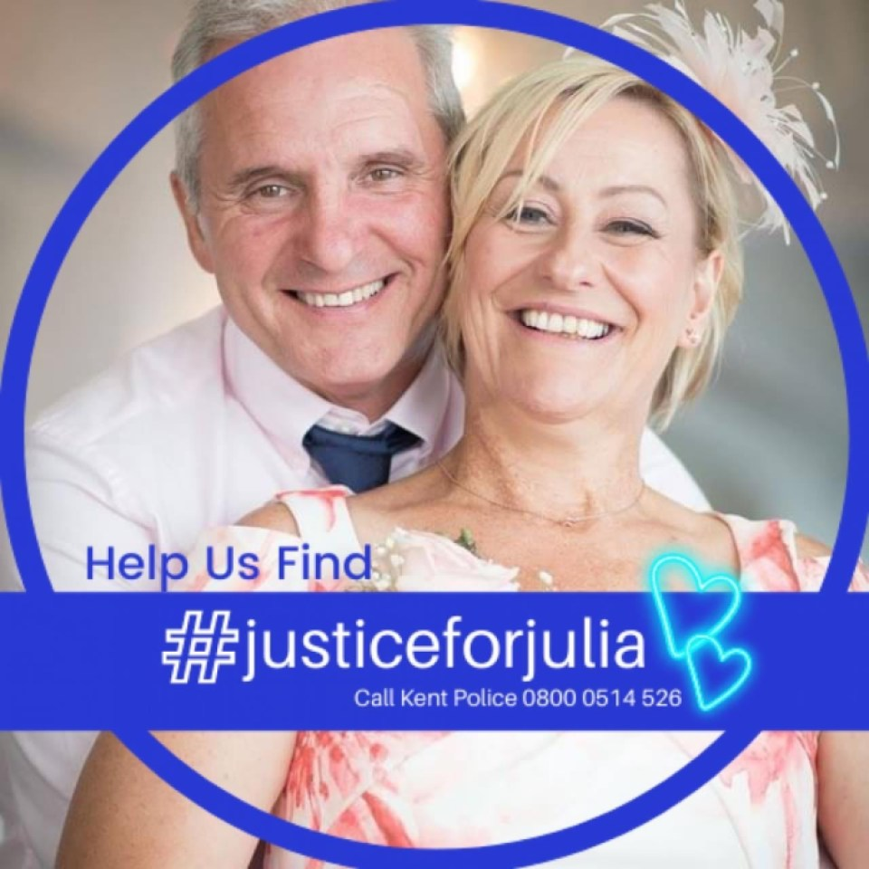 Paul James, 57, changed his social media profile picture to one the couple loved after the tragic loss of his wife