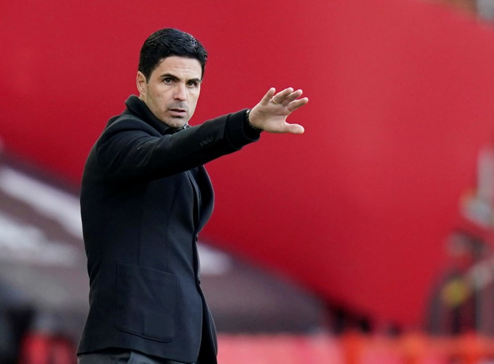 Arsenal boss Mikel Arteta is under immense pressure after a disastrous campaign
