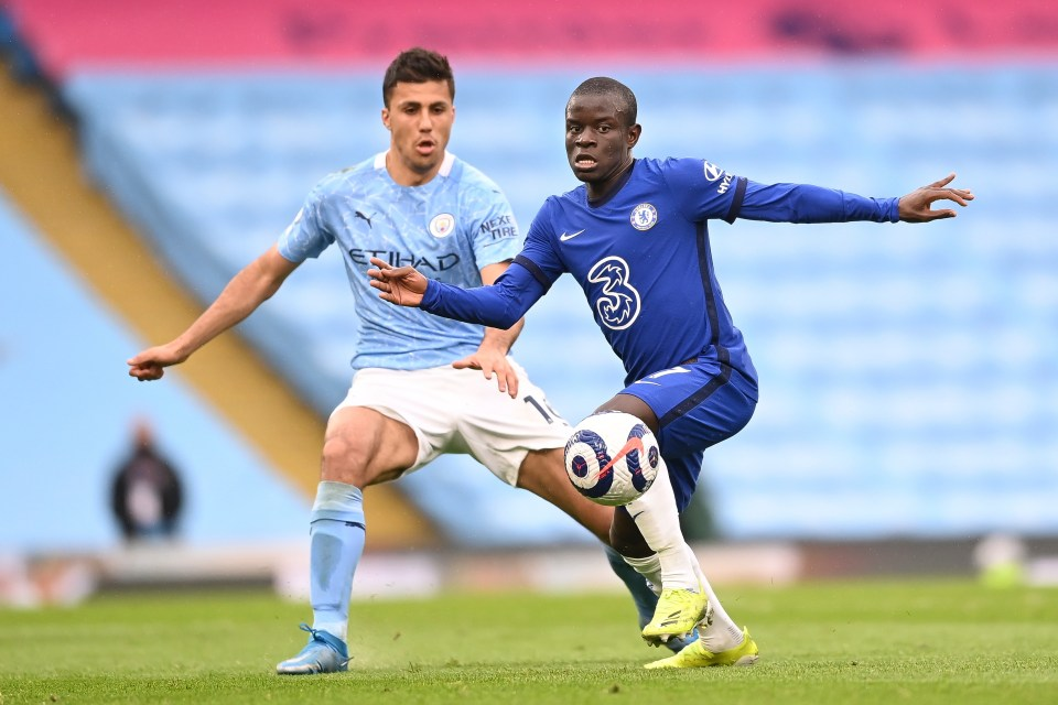 Chelsea star N'Golo Kante missed the defeat against Arsenal due to injury
