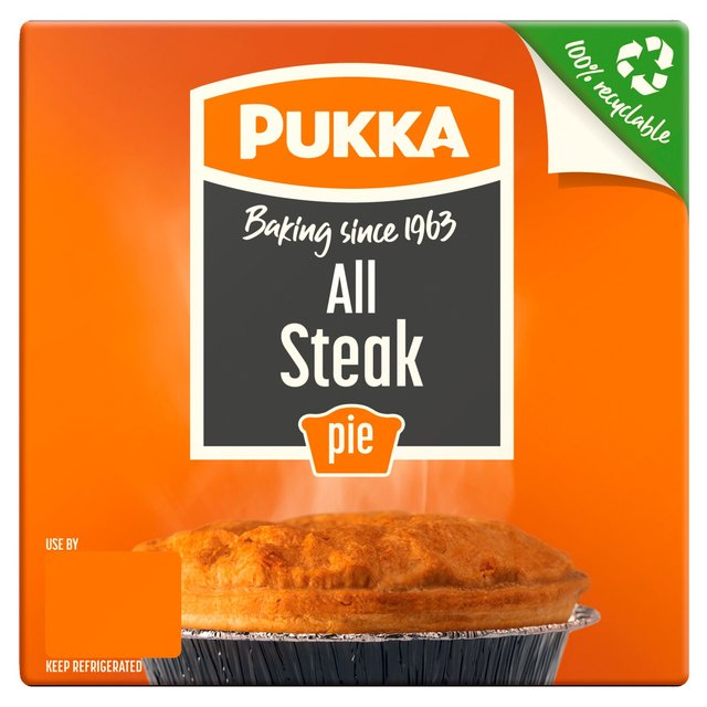 Save 80p on a Pukka All Steak pie at Morrisons