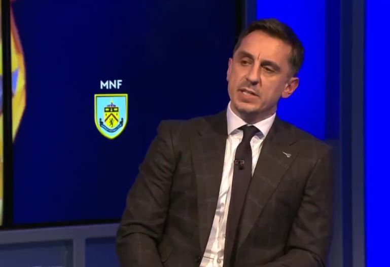 Man Utd icon Gary Neville has heaped praise on the German