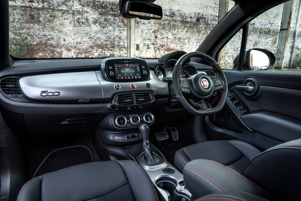 The cosy cabin feels more special with a flat-bottomed Alcantara sports steering wheel and Alcantara-covered binnacle
