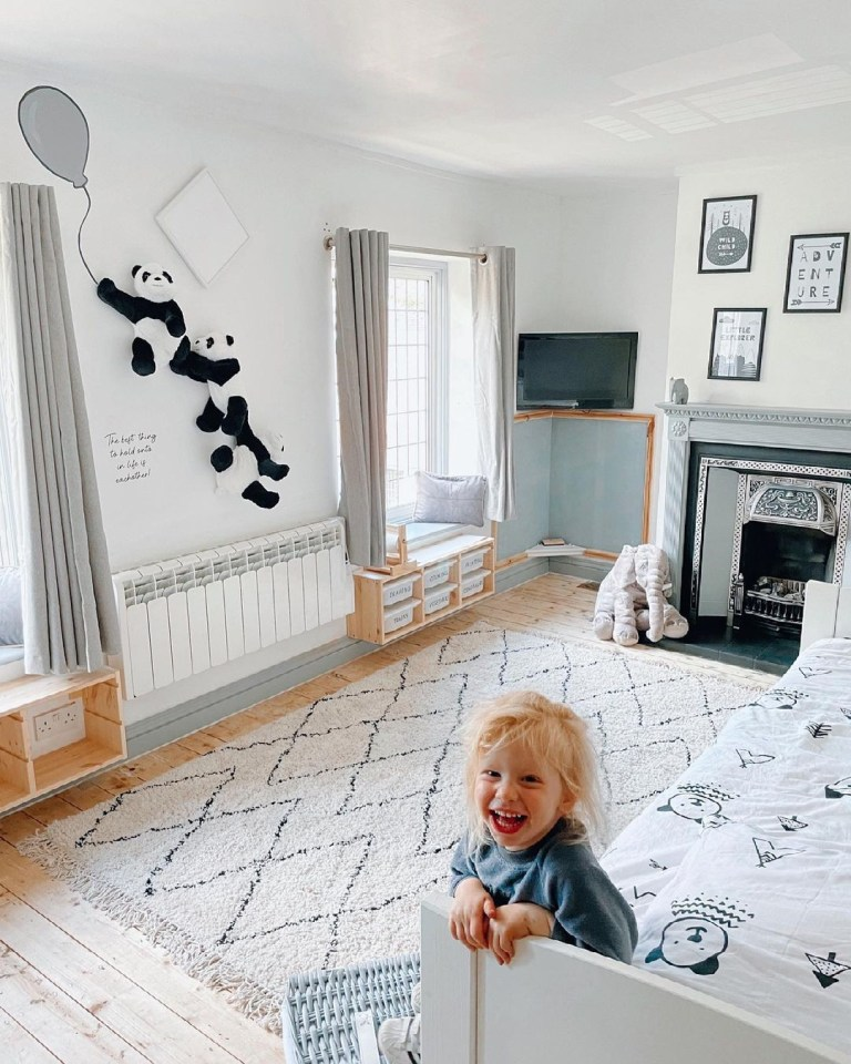 The savvy mum revamped Rex's room with eBay, Dunelm and eBay bargains