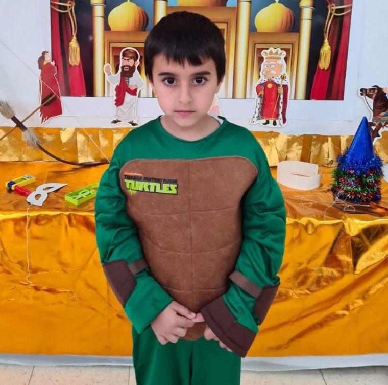 Ido Avigal, de cinco años, fue mortalmente alcanzado por metralla en Israel