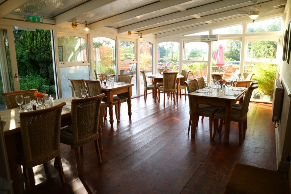 The traditional pub has a conservatory dining area with 18 seats