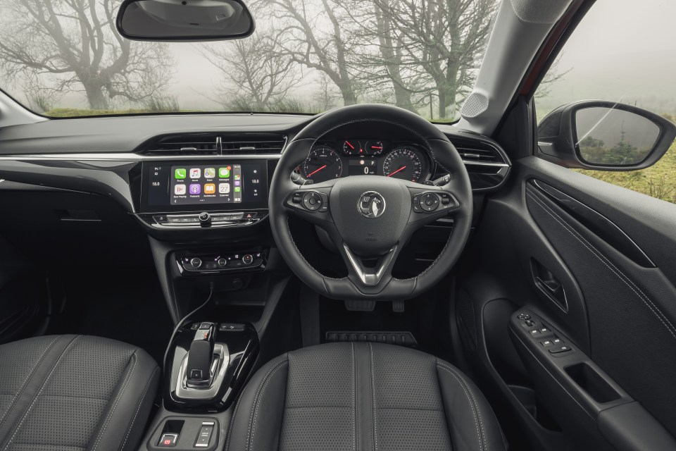 The inside has changed too, with a touchscreen infotainment system and optional built-in satnav