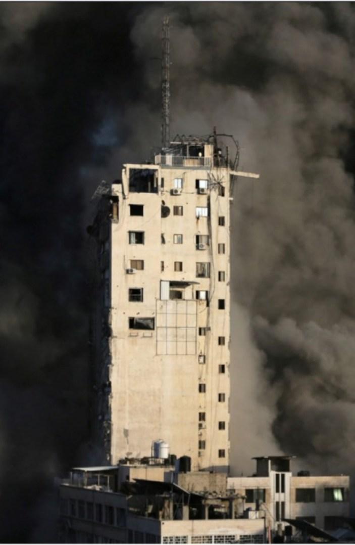 Imágenes impactantes muestran la destrucción en la ciudad de Gaza